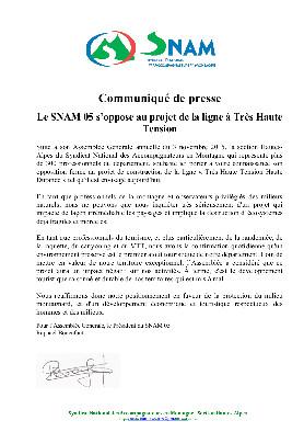 Communiqué Presse THT