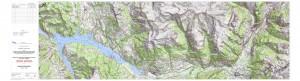 Tracé du projet P4 entre Serre-Ponçon et l'Argentière : cliquer sur la carte pour zoomer sur le tracé